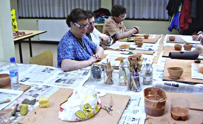 Clases de cerámica para adultos